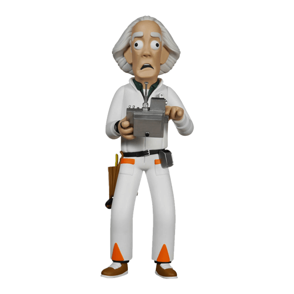 Back To The Future Dr Emmett Brown 8 Vinyl Idolz