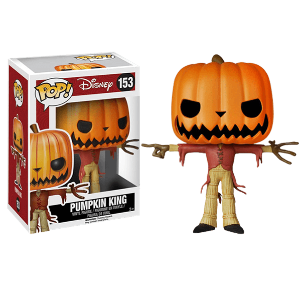 Disney - Nightmare Before Christmas - Jack the Pumpkin King Pop ...