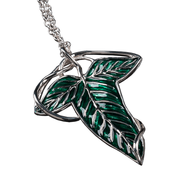 Lord of the rings elven leaf pendant and brooch zing pop culture aloadofball Images